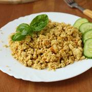 Веганская «яичница» без яиц — рецепт с фото и видео