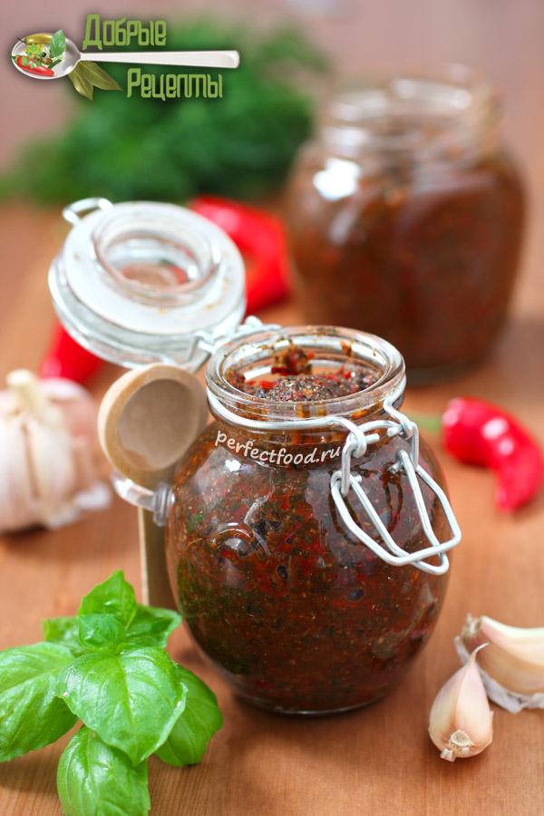 Как приготовить аджику из перца - рецепт