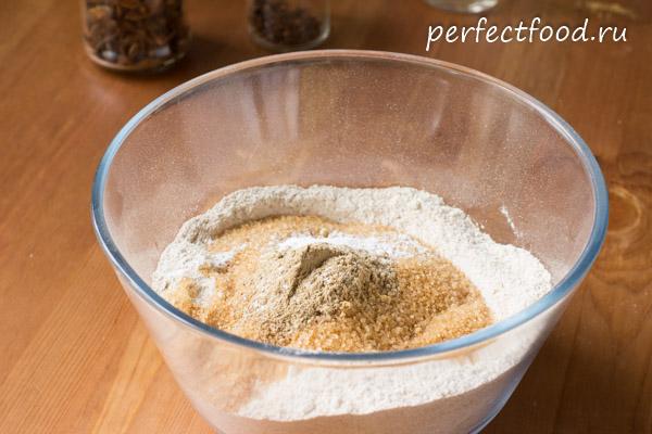 Пирог со смородиной - рецепт с фото01