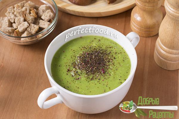 Постный суп-пюре - рецепт с фото