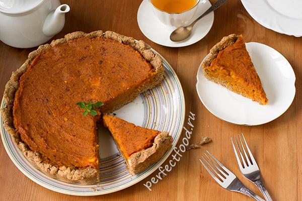 Американский тыквенный пирог - рецепт с фото