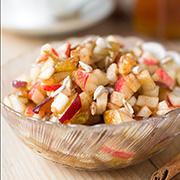 Фруктовый салат из яблок и груш — рецепт с фото и видео