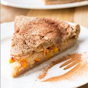 Пирог с облепихой и яблоками — рецепт с фото