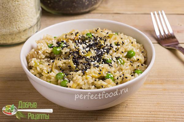 Рис с соевым соусом - рецепт