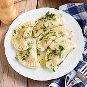 Постные вареники с картошкой — рецепт с фото и видео