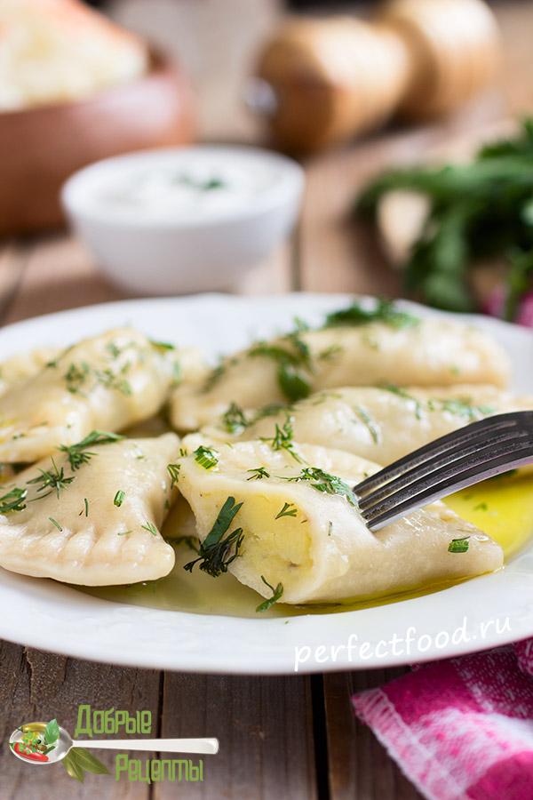 Как приготовить вареники с картошкой и тесто для вареников