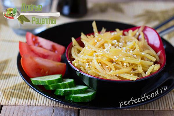 Китайская картошка - рецепт с фото