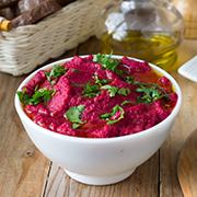 Свекольный хумус — рецепт с фото и видео