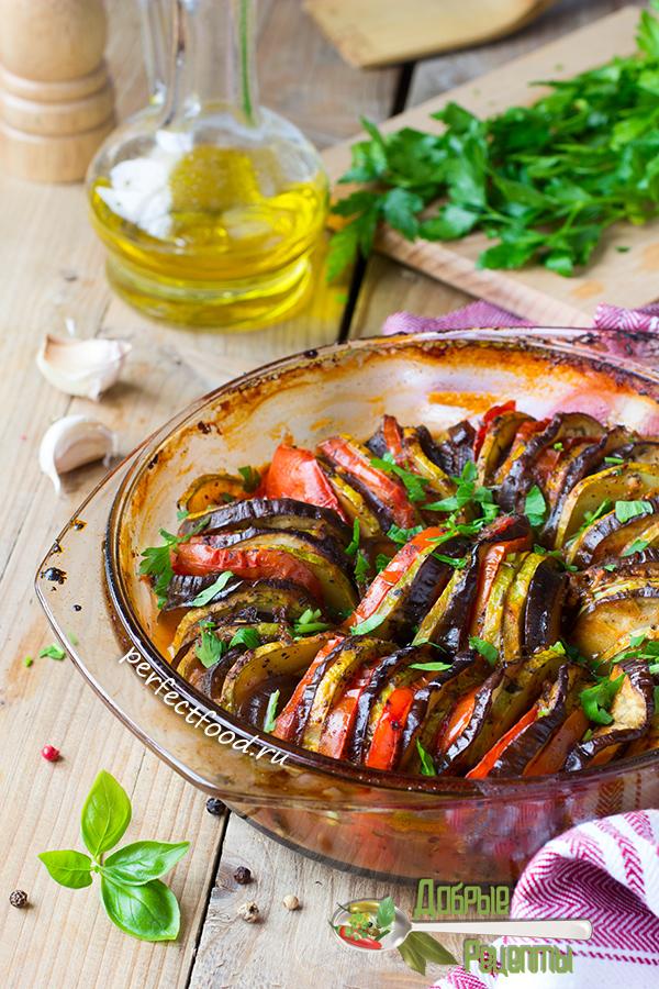 Как приготовить рататуй из кабачков и баклажанов