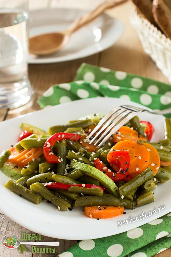 Как приготовить зелёную фасоль - рецепт