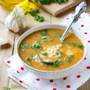 Томатный суп с чесноком и рисом — рецепт с фото и видео