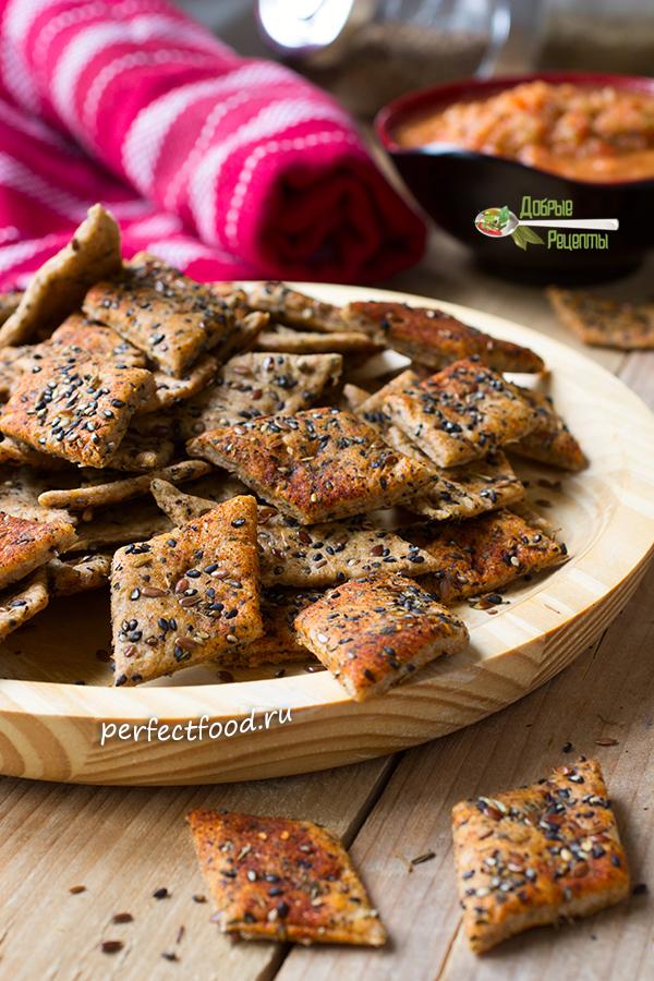 Как приготовить солёное печенье со специями