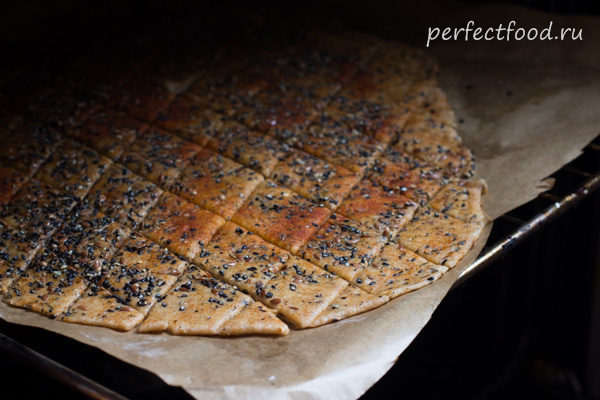 Рецепт солёного печенья