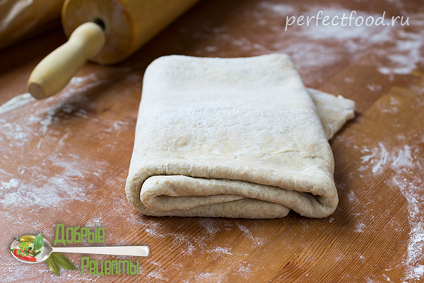 Как сделать слоёное тесто без дрожжей