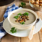 Грибной суп-пюре (из лесных грибов). Рецепт с фото и видео