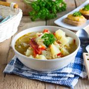Суп из красной чечевицы с булгуром. Рецепт с фото и видео