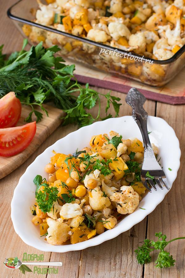 Как приготовить запечённую цветную капусту в духовке