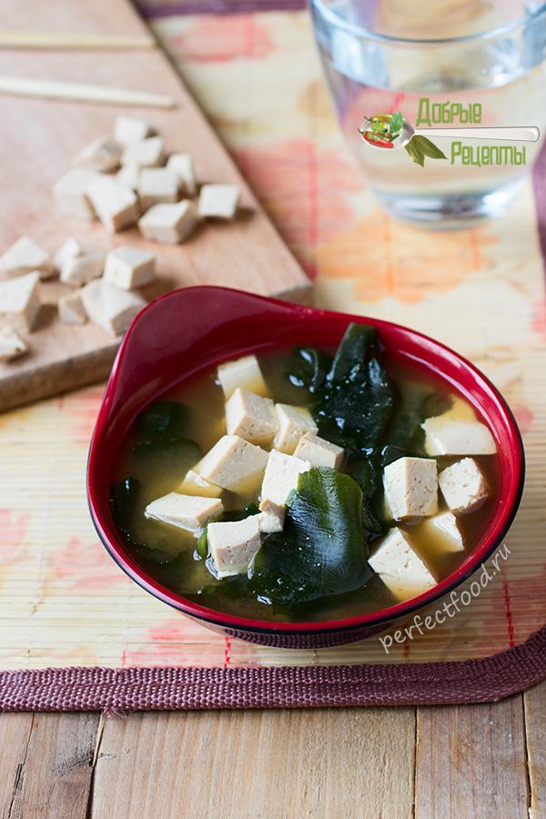 Мисо-суп - рецепт с фото и видео