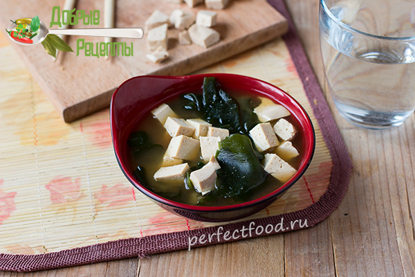 Мисо-суп в домашних условиях - рецепт