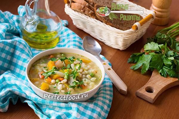 Суп минестроне - рецепт с фото