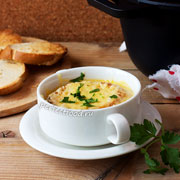 Французский луковый суп. Рецепт с фото и видео