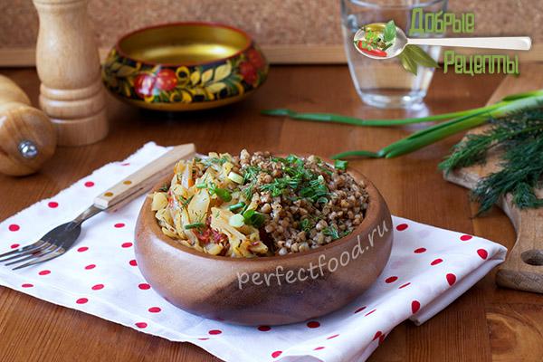 Как вкусно приготовить гречку с овощами - рецепт