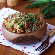 Как вкусно приготовить гречку с овощами