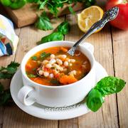 Томатный суп с фасолью по-гречески — фасолада. Рецепт с фото и видео