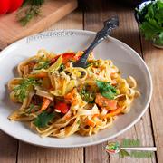 Лапша с овощами — рецепт с фото и видео. Лагман с овощами