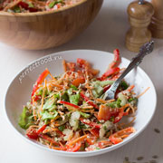 Полезный салат с сельдереем и семечками. Рецепт с фото и видео