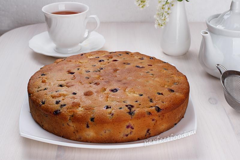 рецепт пирога без кефира в духовке