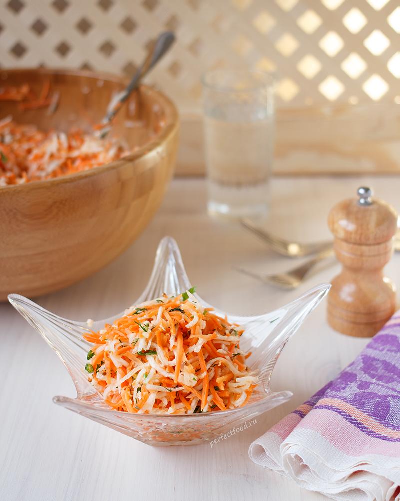 Салат из дайкона простой