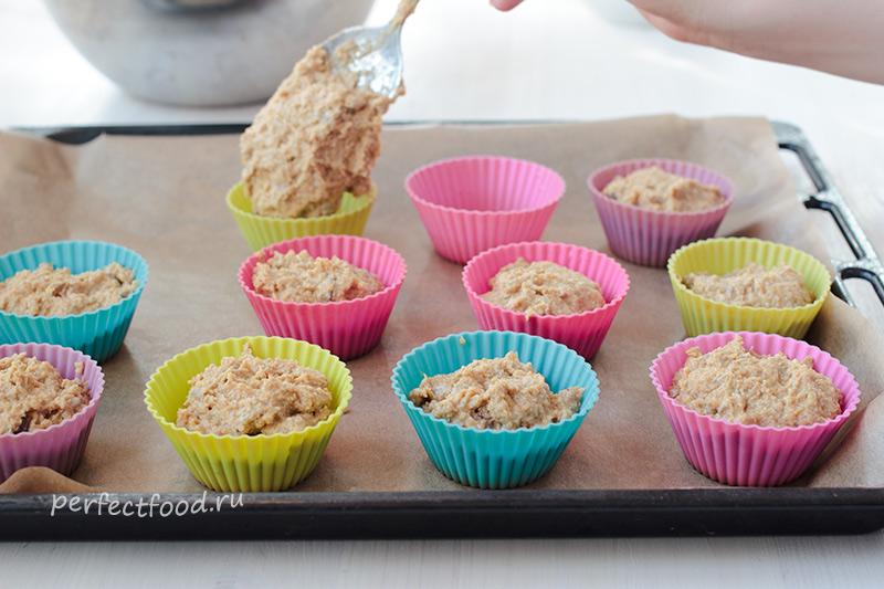 Как сделать овсяные кексы - рецепт