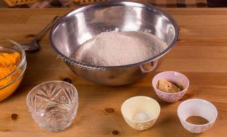 Ингредиенты для тыквенного печенья